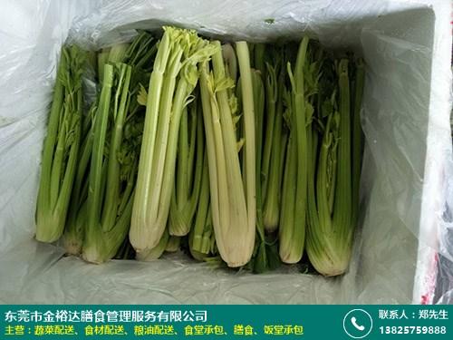 蔬菜配送的图片