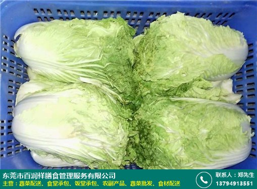 沙井餐厅蔬菜配送价格实惠的图片
