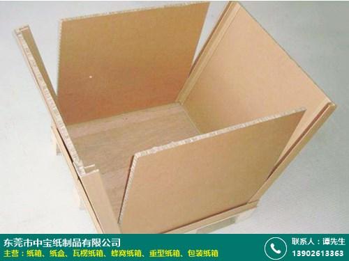 蜂窝纸箱的图片
