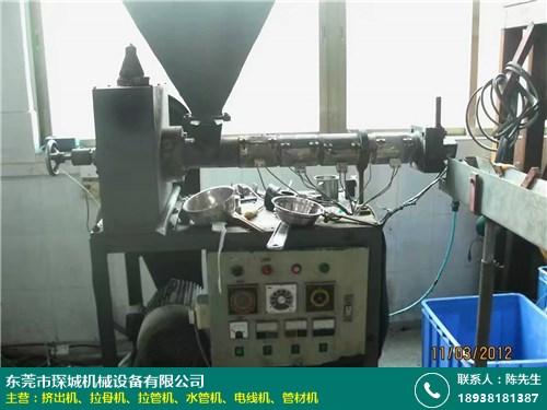河南管材机价格优惠 TPE 微型 PE PET 琛城机械