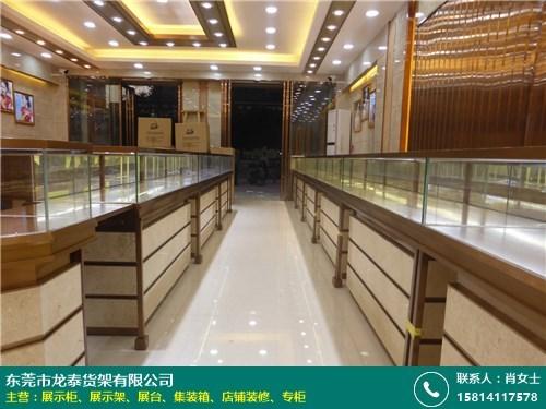 杭州珠宝展台安装的图片