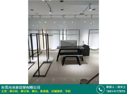 烟台不锈钢展示架的图片