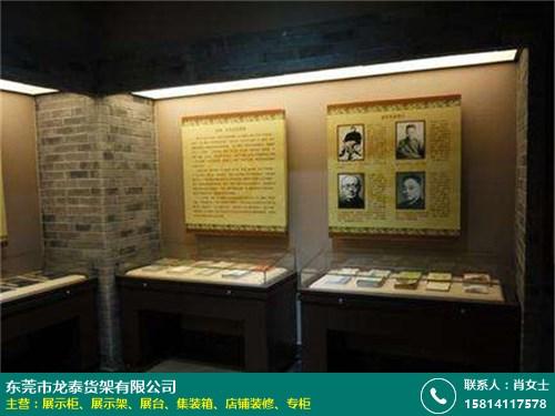 武汉博物馆展示柜的图片