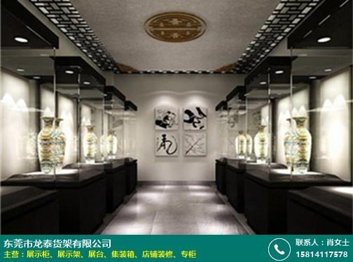 浙江珠宝展示柜订做的图片