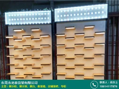 宁波眼镜展示柜专业定做的图片