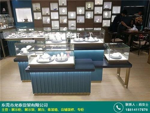 湖南饰品店铺装修柜台的图片