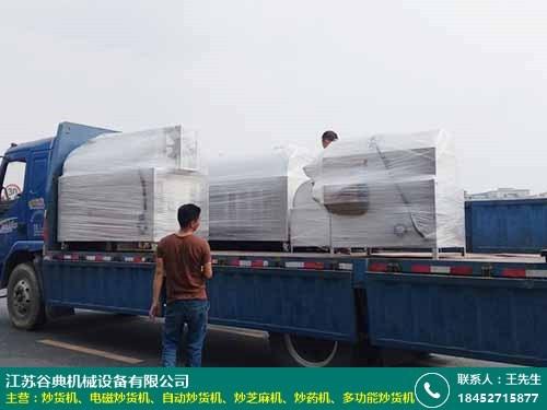 青稞自动炒货机价格的图片