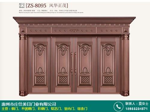 庭院真铜门十大品牌排名的图片