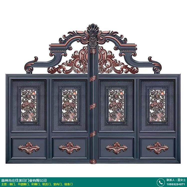 兴宁铝艺别墅大门的图片