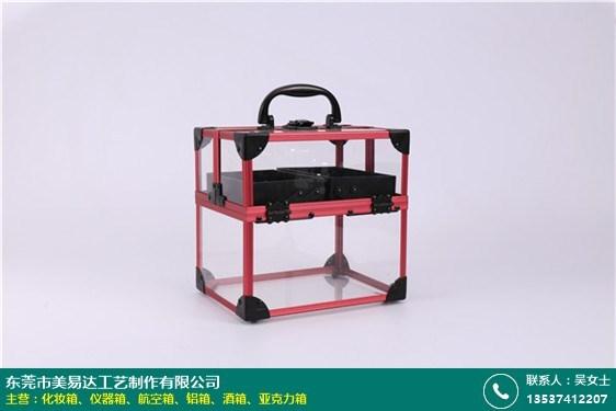 四川鋁框亞克力箱定做的圖片