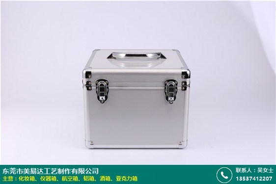 江蘇鋁合金酒箱哪家便宜的圖片