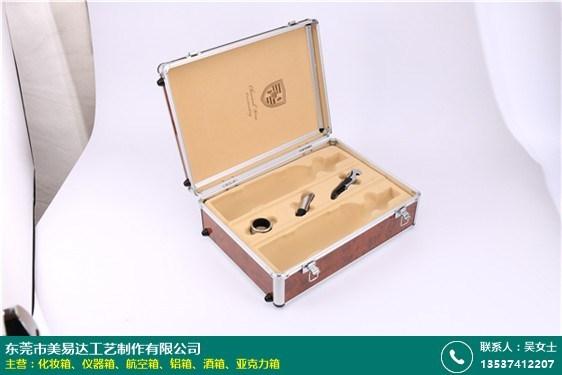 上海皮革酒箱哪家便宜的圖片