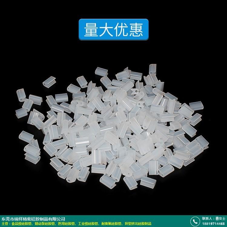 异型挤出硅胶制品的图片