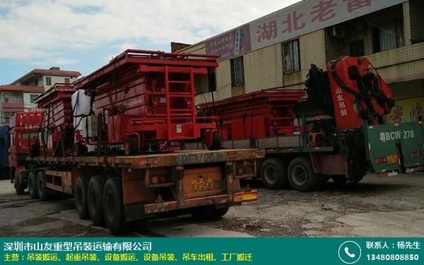 大型设备吊装搬运公司怎么样的图片