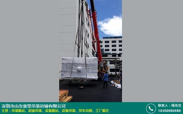 工厂起重吊装设备搬运的图片