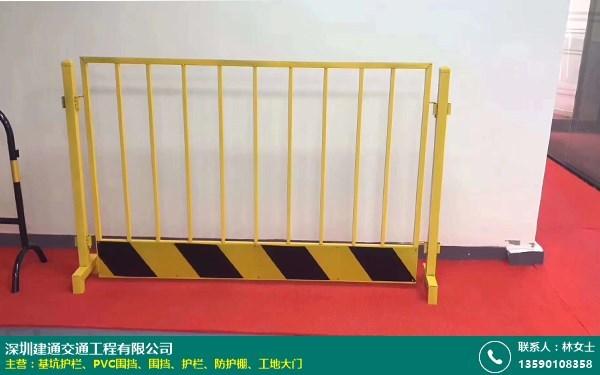 基坑护栏的图片