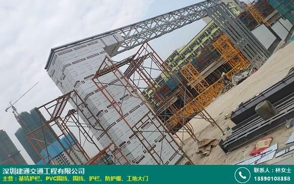 工地标准化工地大门的图片