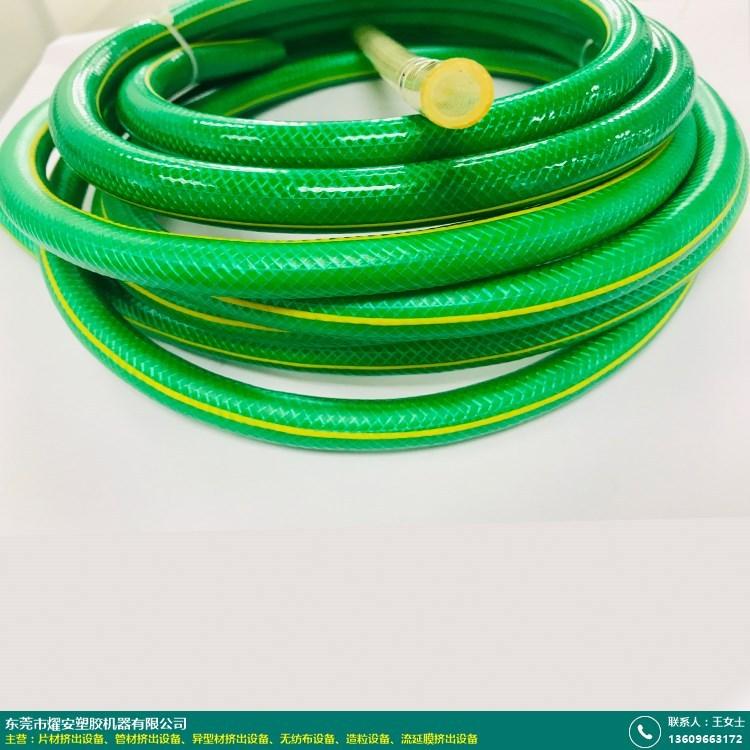 单螺杆pvc管材挤出设备的图片