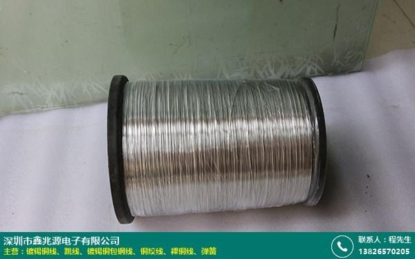镀锡铜包钢线的图片