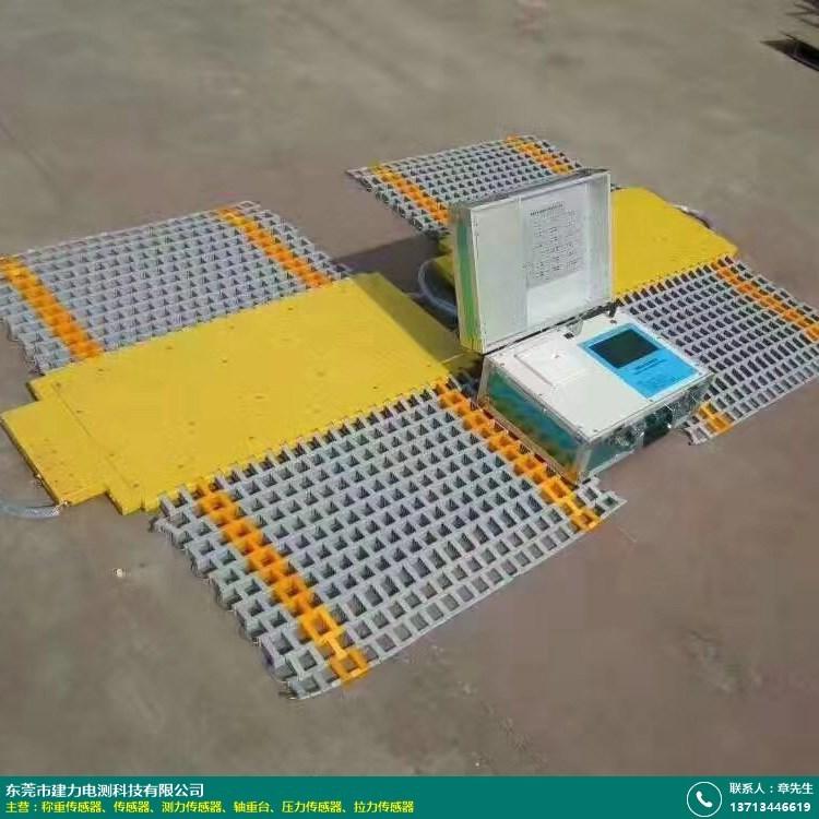 超限检测站轴重台的图片