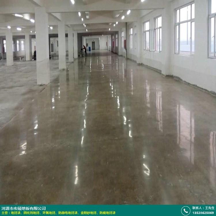鹰潭商场固化剂地坪工程的图片