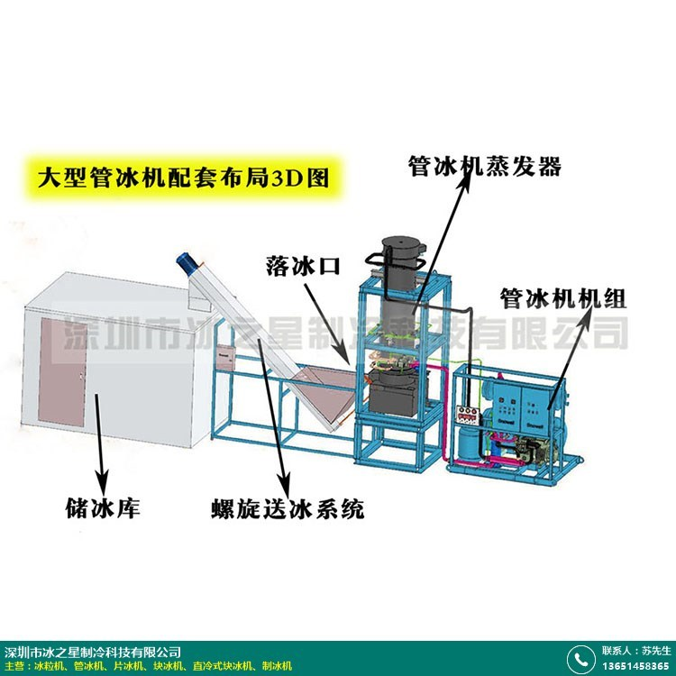 郑州商用管冰机价格的图片