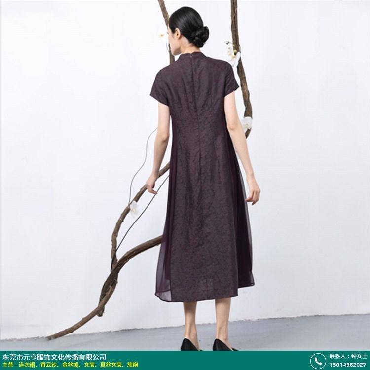 惠州桑蚕丝连衣裙的图片