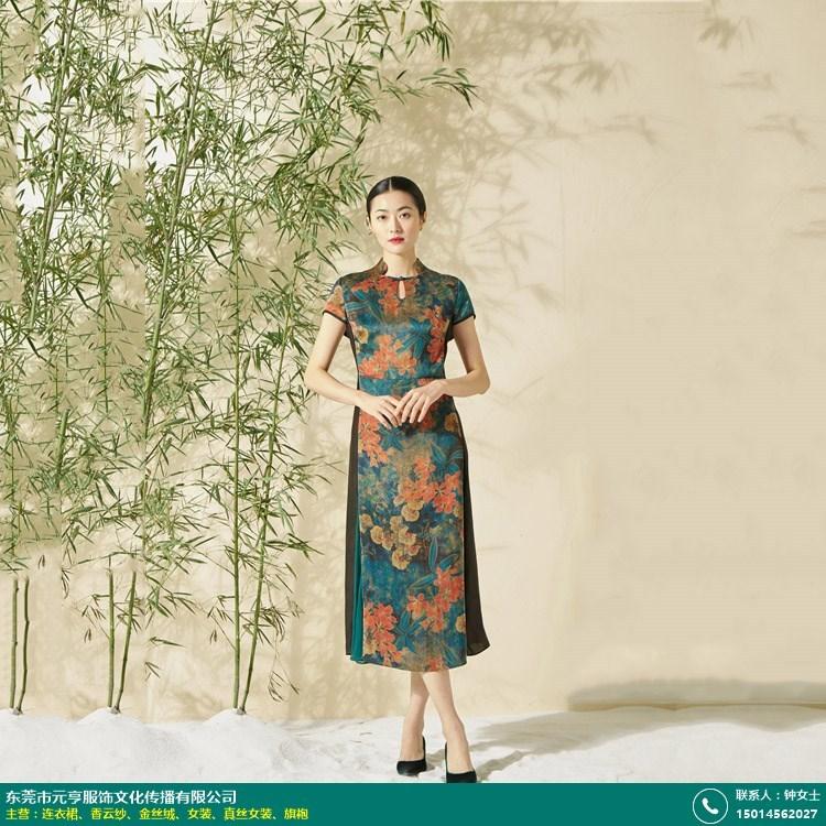 河北印花金丝绒服装定制的图片