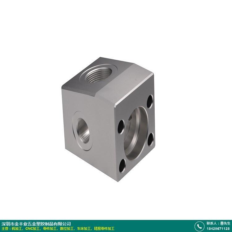 五轴CNC加工零件的图片