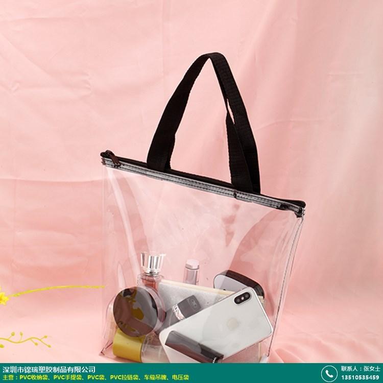 日用PVC手提袋工厂的图片