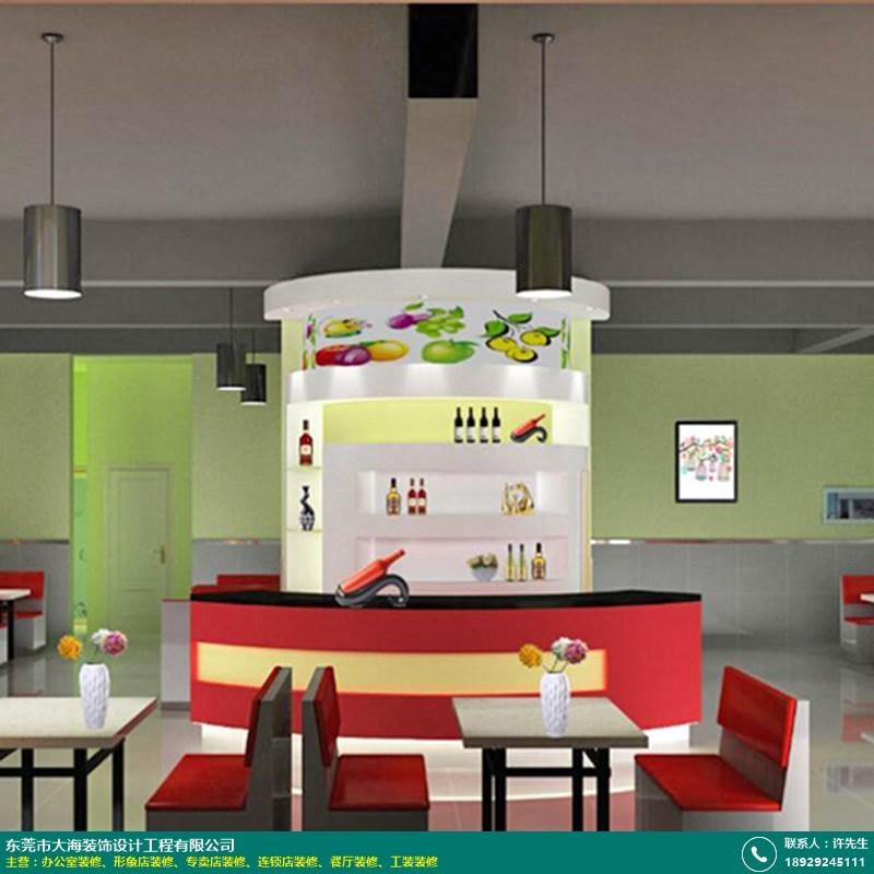 餐厅装修的图片