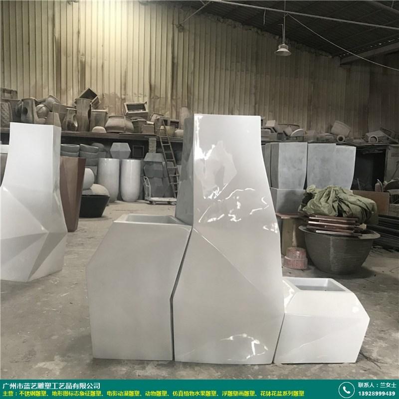 花钵花盆系列雕塑的图片