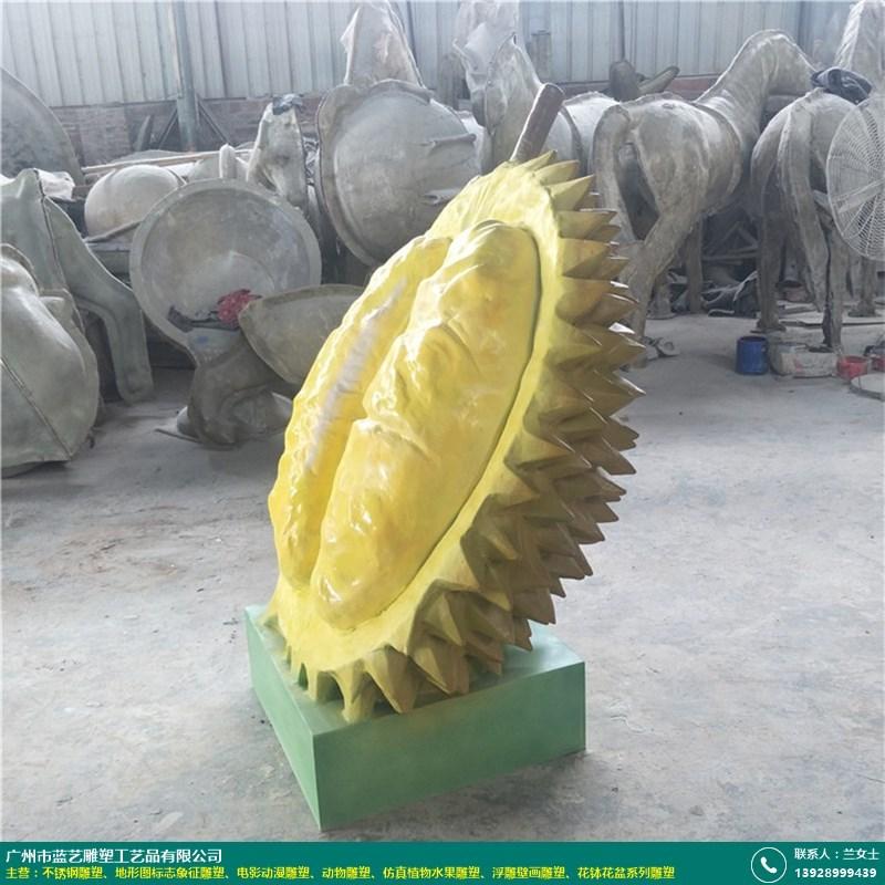 仿真植物水果雕塑的图片
