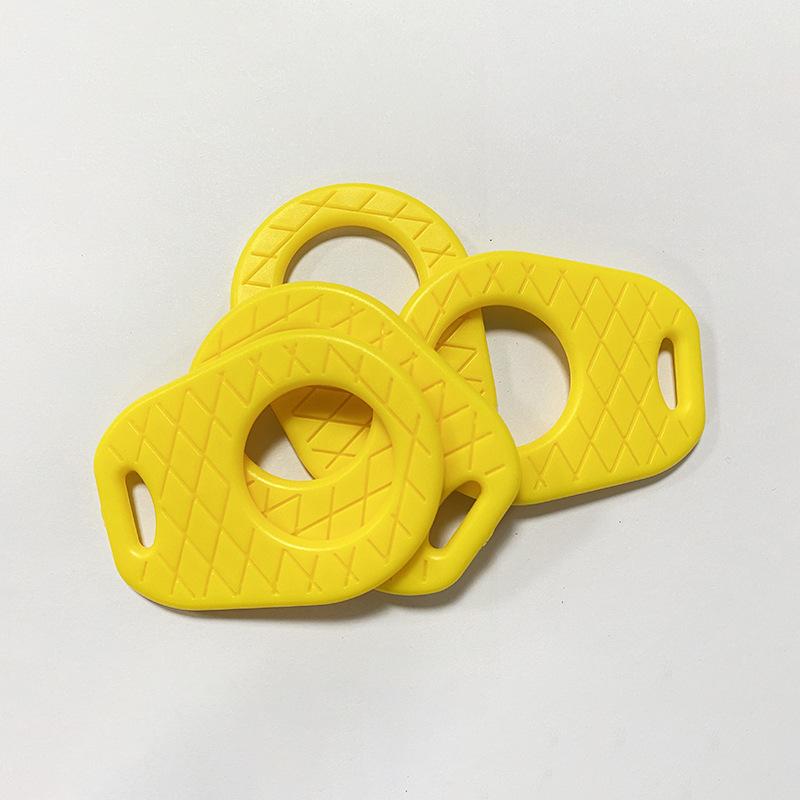 厂家直销婴儿水果菠萝牙胶 婴幼宝宝单色啃咬磨牙玩具 可加工定制