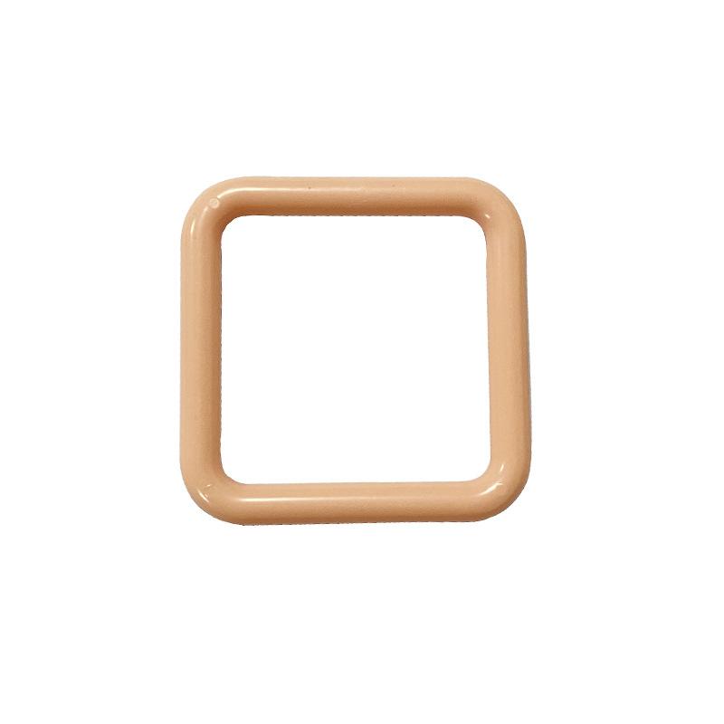 厂家生产销售四方形胶环 玩具塑料配件 可做任何颜色支持加工定制