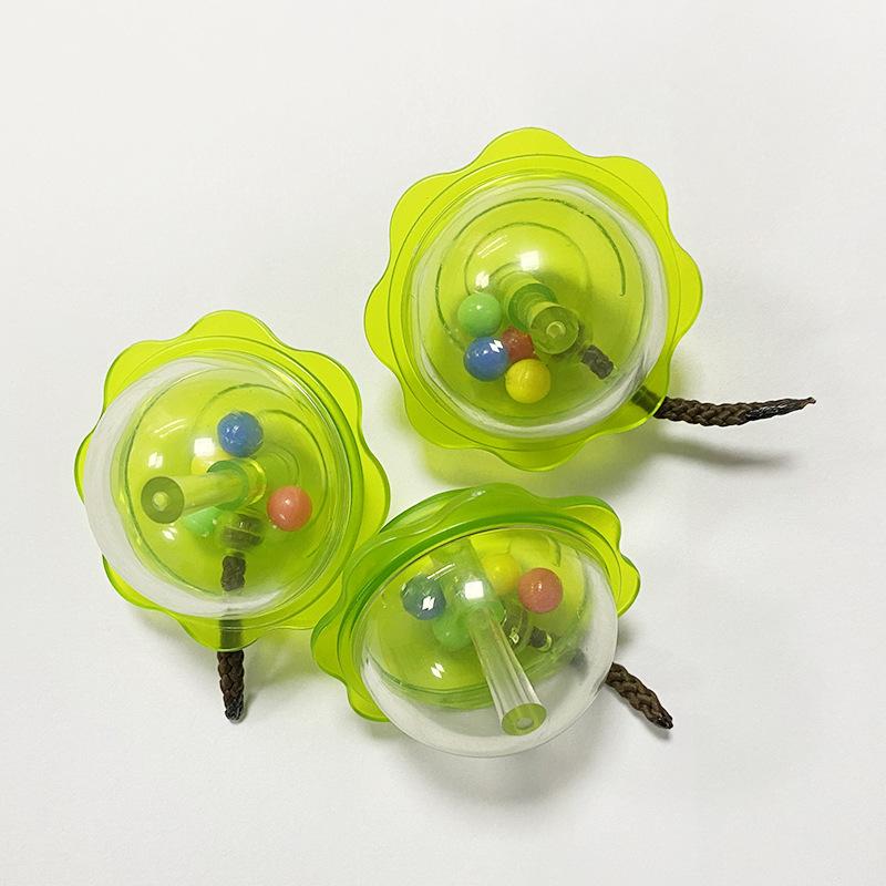厂家直销 透明摇铃 宝宝安抚玩具 婴幼儿玩具配件 支持加工定制