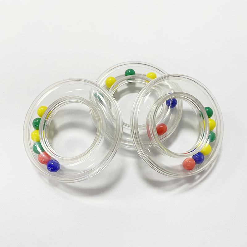 环形牙胶 圆圈铃铛 婴幼儿感官听觉 亲子交流 手眼协调 互动玩具