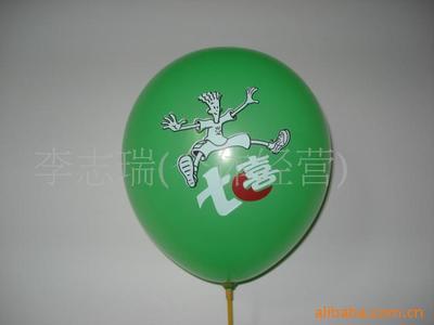 卡通彩印装饰小气球