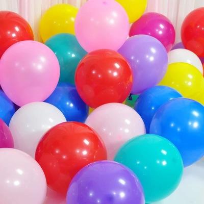2.2克彩色乳胶气球定制